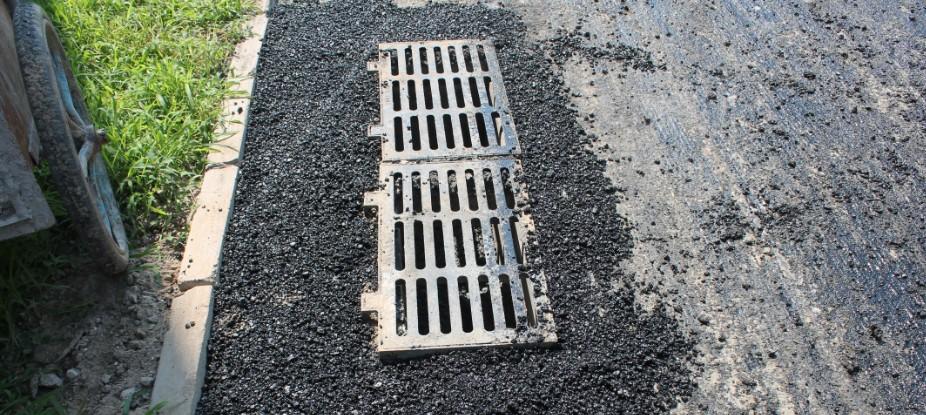 沥青混凝土道路施工